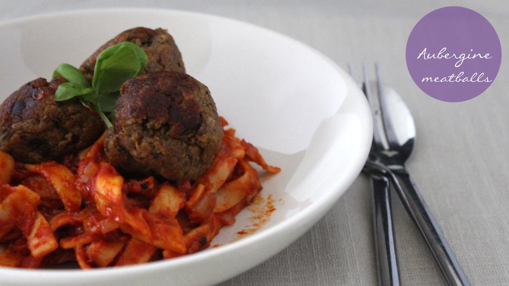 aubergine-meatballs