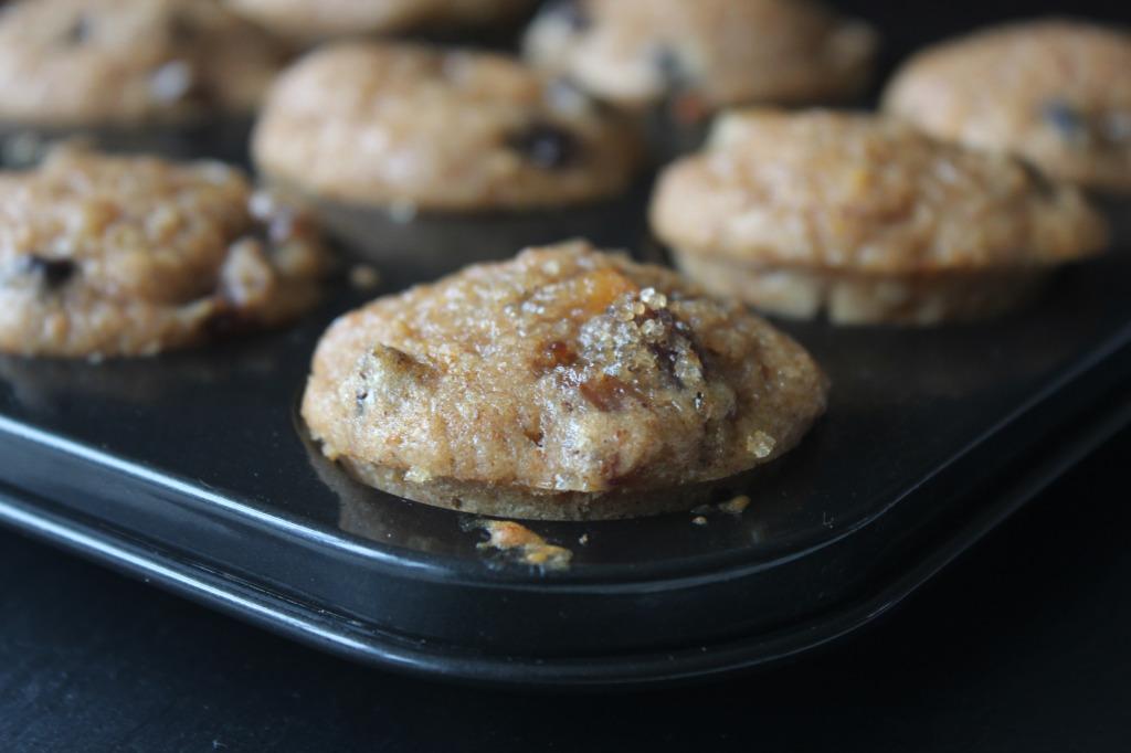 mini xmas muffins