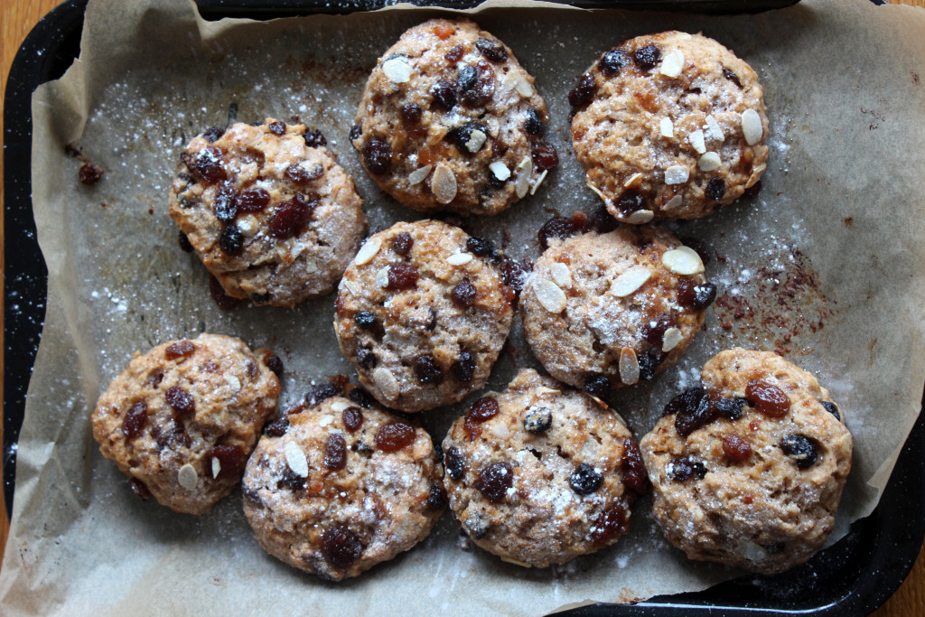 Mincemeat scones