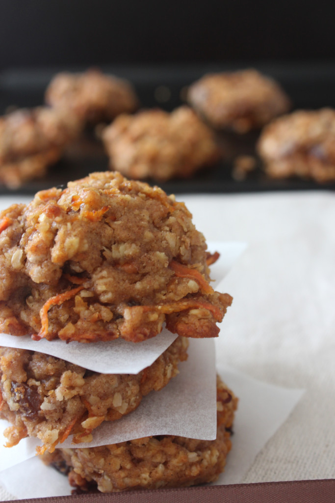 soft carrot cookies2