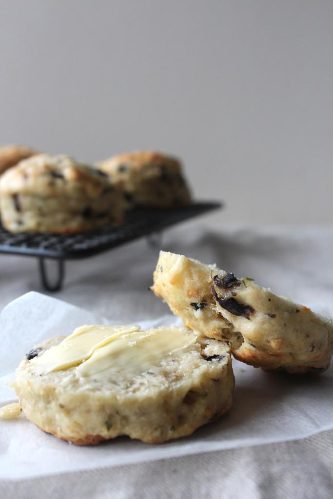 Garlic Mushroom Scones5