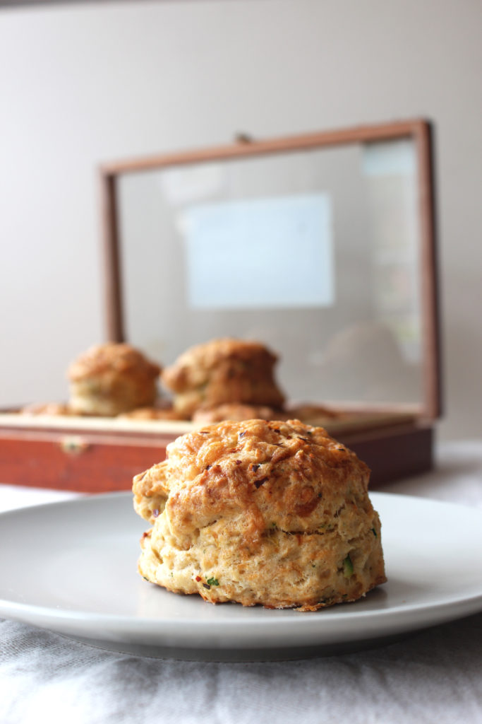 courgette-scones
